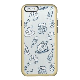 Food Pattern Incipio Feather® Shine iPhone 6 Case