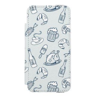 Food Pattern Incipio Watson™ iPhone 5 Wallet Case