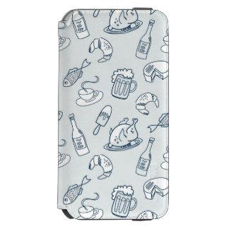 Food Pattern Incipio Watson™ iPhone 6 Wallet Case