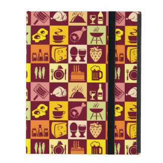 Food Pattern iPad Covers