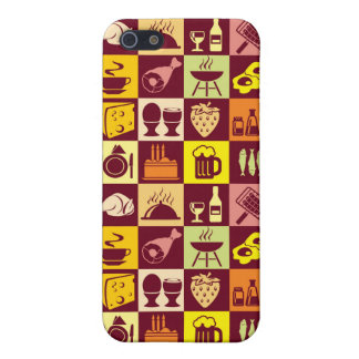 Food Pattern iPhone 5/5S Case