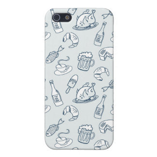 Food Pattern iPhone 5/5S Cases