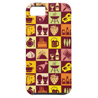 Food Pattern iPhone 5 Case