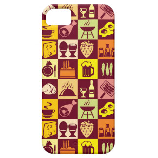 Food Pattern iPhone 5 Cases