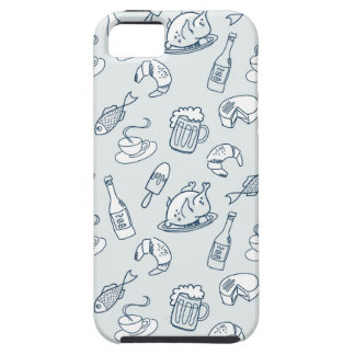 Food Pattern iPhone 5 Covers