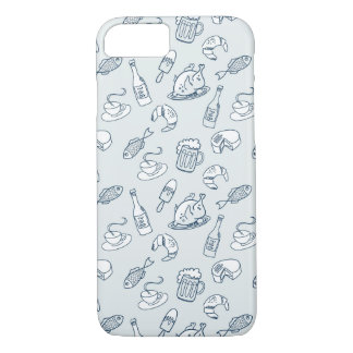 Food Pattern iPhone 7 Case