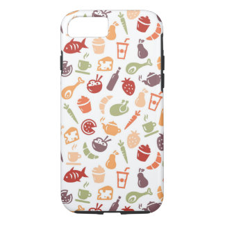 Food Pattern iPhone 8/7 Case