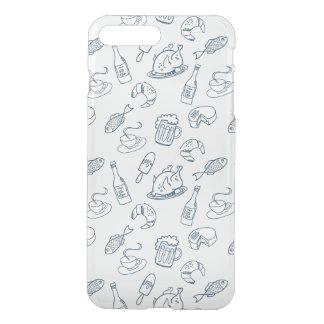 Food Pattern iPhone 8 Plus/7 Plus Case