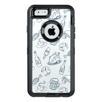 Food Pattern OtterBox iPhone 6/6s Case