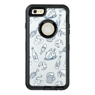Food Pattern OtterBox iPhone 6/6s Plus Case
