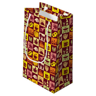 Food Pattern Small Gift Bag
