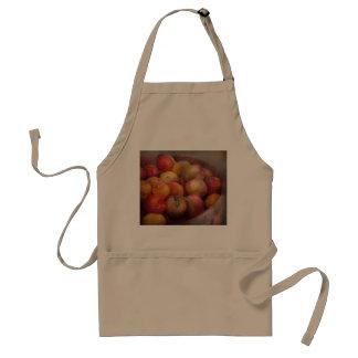 Food - Peaches - Farm fresh peaches Adult Apron