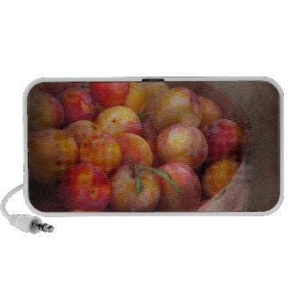 Food - Peaches - Farm fresh peaches Portable Speakers