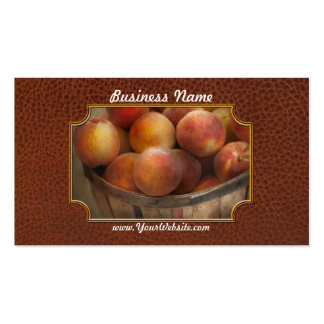 Food - Peaches - Just Peachy Pack Of Standard Business Cards