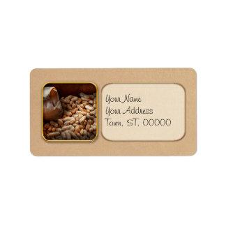Food - Peanuts Address Label