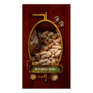 Food - Peanuts Double-Sided Standard Business Cards (Pack Of 100)