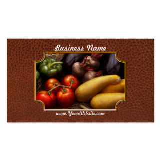 Food - Peppers, Tomatoes, Squash and Turnips Pack Of Standard Business Cards