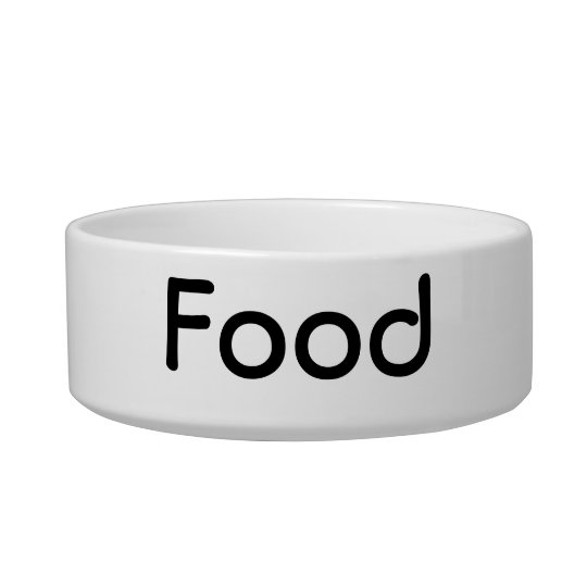 Food Pet Bowl