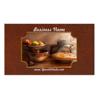 Food - Pie - Mama's peach pie Pack Of Standard Business Cards