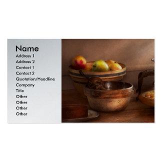 Food - Pie - Mama's peach pie Business Card