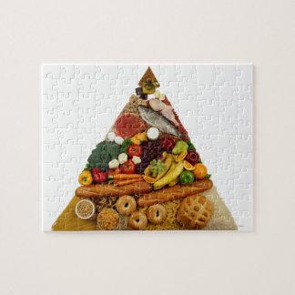 Food Pyramid Puzzle
