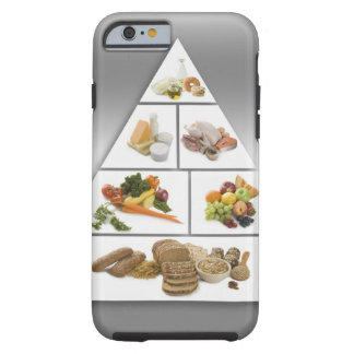 Food pyramid tough iPhone 6 case