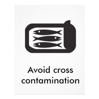 Food Safety Notice 21.5 Cm X 28 Cm Flyer