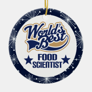 Food Scientist Gift Ornament