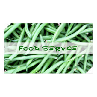 Food Service Pack Of Standard Business Cards