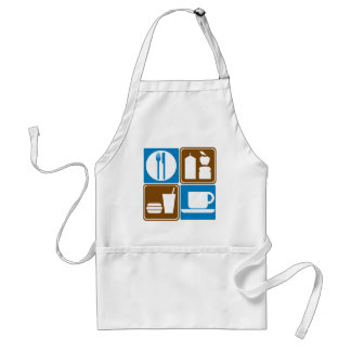 Food Services Highway Signs Collection Standard Apron