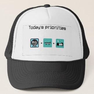 food-skateboard-bed trucker hat