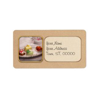 Food - Sweet - Cake - Grandma's treats Address Label