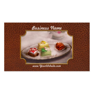 Food - Sweet - Cake - Grandma's treats Pack Of Standard Business Cards