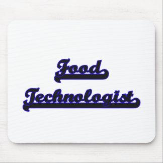Food Technologist Classic Job Design Mouse Pad