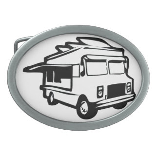 Food Truck Belt Buckle
