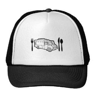 Food Truck Plate & Utensils Cap