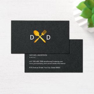 Food Utensils Business Card
