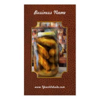 Food - Vegetable - A jar of pickles Pack Of Standard Business Cards