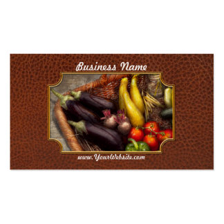 Food - Vegetables - From mother's garden Pack Of Standard Business Cards