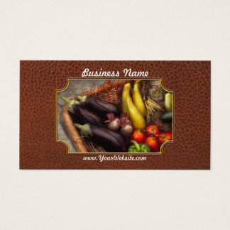 Food - Vegetables - From mother's garden Business Card