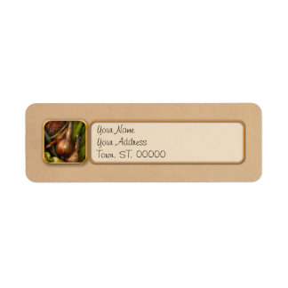 Food - Vegetables - Greens and Onions Return Address Label