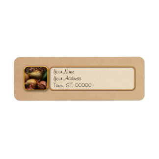 Food - Vegetables - Onions and Peppers Return Address Label
