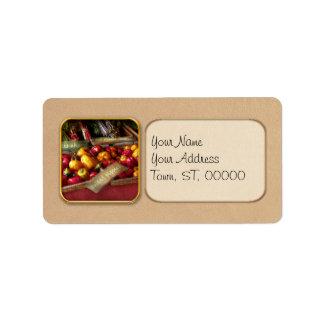 Food - Vegetables - Sweet peppers for sale Address Label