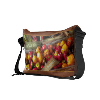 Food - Vegetables - Sweet peppers for sale Courier Bags