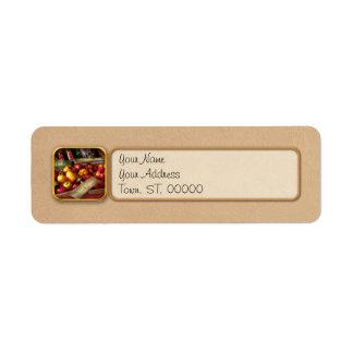 Food - Vegetables - Sweet peppers for sale Return Address Label