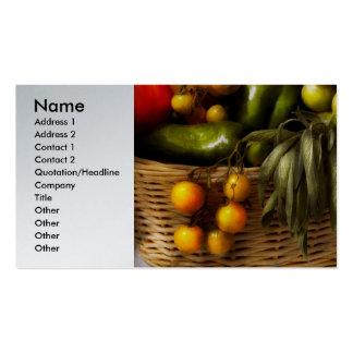 Food - Veggie - Sage advice Pack Of Standard Business Cards