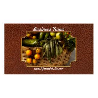 Food - Veggie - Sage advice Business Card Template