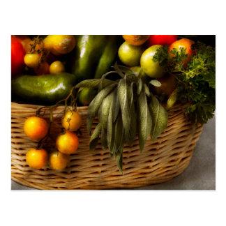 Food - Veggie - Sage advice Postcard