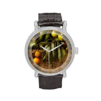 Food - Veggie - Sage advice Wristwatches
