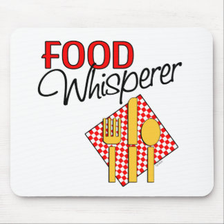 Food Whisperer Mouse Pads
